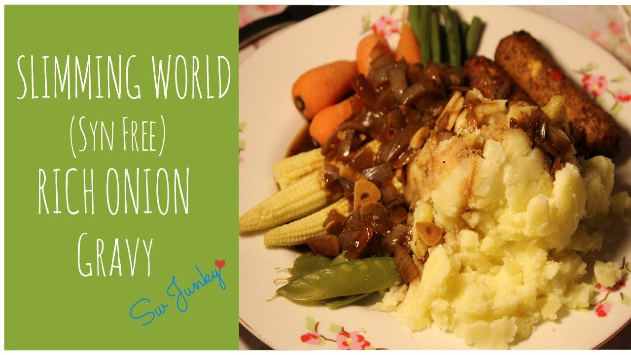 Slimming world syn free gravy youtube Slimming world slimming world