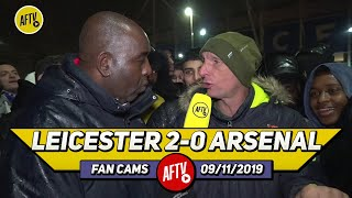 Leicester City 2-0 Arsenal | The Board Have To Sort Out This Emery Situation Now! (Lee Judges)