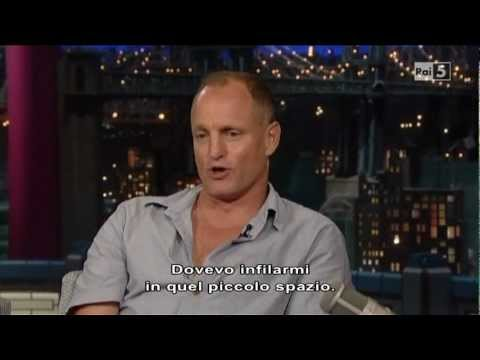 Woody Harrelson al David Letterman (20-07-2012)