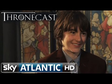Game of Thrones Bran Stark: Isaac HempsteadWright Thronecast