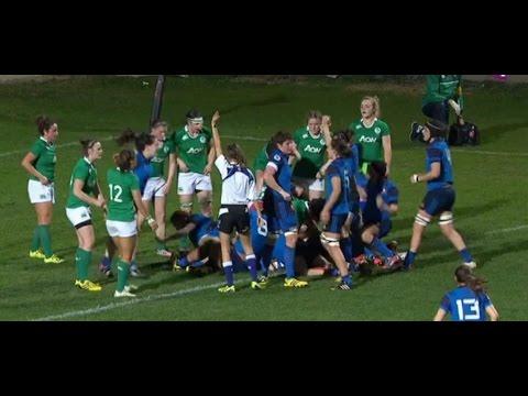 Six Nations féminines 2016 France Irlande féminines