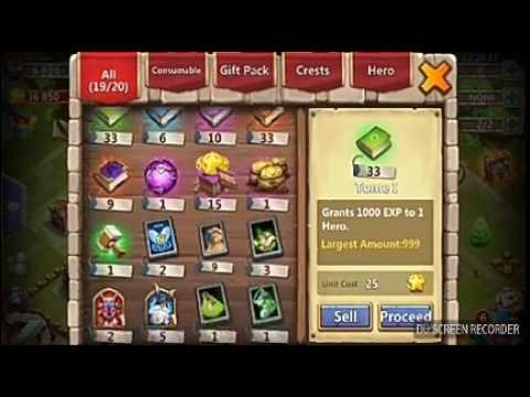 How To Get Hero Shards In Castle Clash For Free