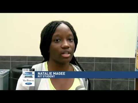 RIT on TV: Students comment on potential of Uber Ride Share - on WHAM