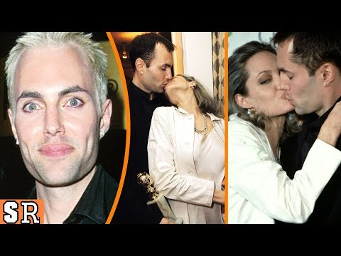 Angelina Jolie KISSING Her Brother, James Haven!!! | So Random