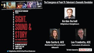 "Sight, Sound Story 2019: ""The Emergence of Peak TV: Television's Cinematic Revolution""  - FULL PANEL"