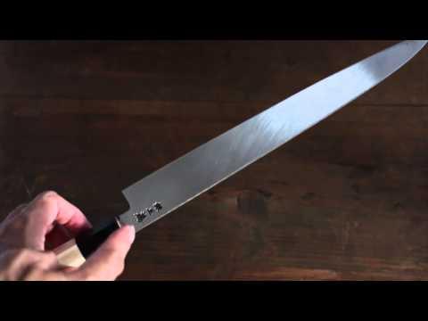 [Sakai Takayuki] Japanese Chef series Yanagiba (Sashimi Slicer) Knife