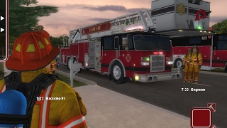 Flame Sim--ULTIMATE FIREFIGHTER SIMULATION GAMEPLAY (Truck 22)