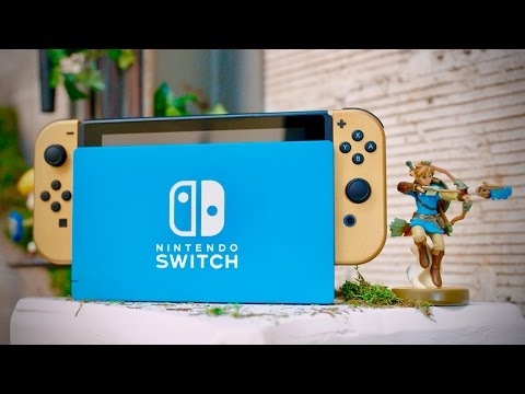 Nintendo Switch - Zelda Breath of the Wild Edition!
