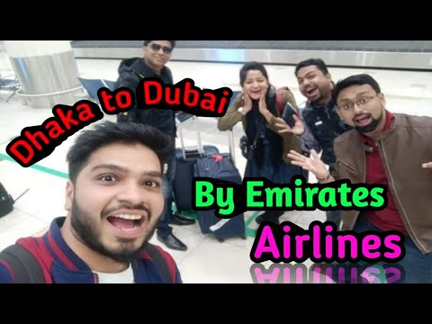 DHAKA TO DUBAI BY EMIRATES AIRLINES