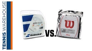 Tennis String Review: Babolat RPM Blast vs. Wilson's Champion's Choice (Rafa vs. Fed)