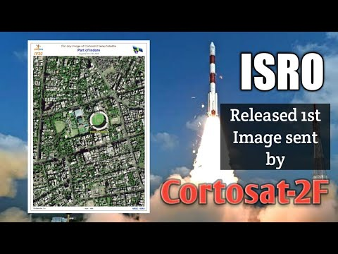 ISRO Released the First Image Sent From Space By Cartosat-2