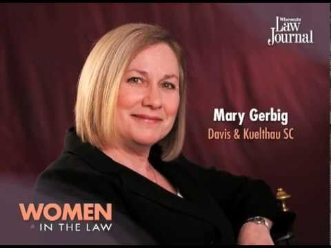 Mary Gerbig - 2011 Women in the Law - YouTube