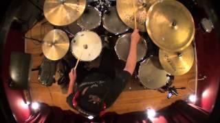 "Frank Briggs Drums - ""Beelzebub"" (Bill Bruford)"