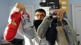 SIGNED YEEZY'S SNEAKER COLLECTION @KEVINXSOLES