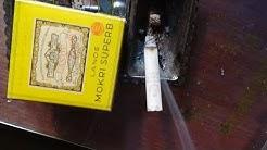 Zigarette aus dem zweiten Weltkrieg rauchen