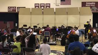 Columbia Middle School String Orchestra