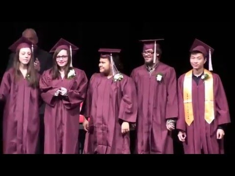 Beaver Island Lighthouse School Graduation December 2015