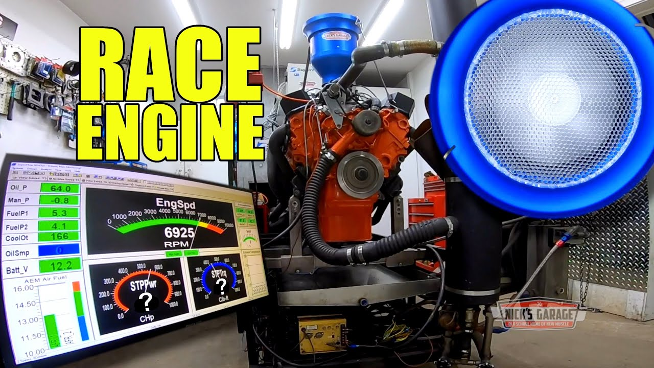 Racing Engine Screams on Dyno - PLUS Classic Duster Test Drive
