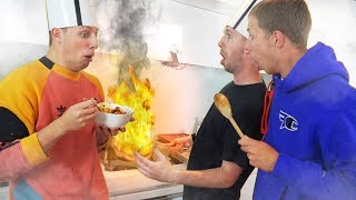 CALLUX vs W2S YOUTUBER COOK OFF CHALLENGE!