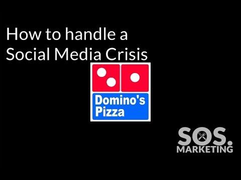 Handling a Social Media Crisis: Domino's