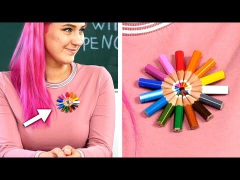9 Genius Fashion Ideas! DIY Fashion Hacks And Other Tips & Tricks
