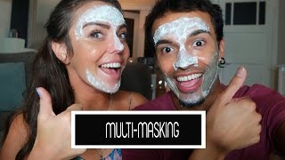 MULTI- MASKING MET THE BODY SHOP + WINACTIE! | Laura Ponticorvo |