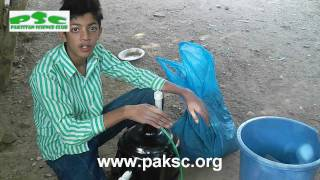 Homemade Biogas Plant Anaerobic Digester Construction (Urdu) Part 2/3