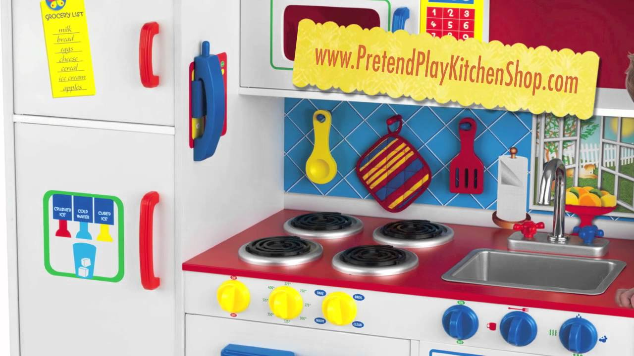 Kidkraft Deluxe Lets Cook Kitchen 53139 Toy Play
