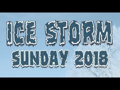 Ice Storm Sunday 2018 - Follow Me @GTBurlington
