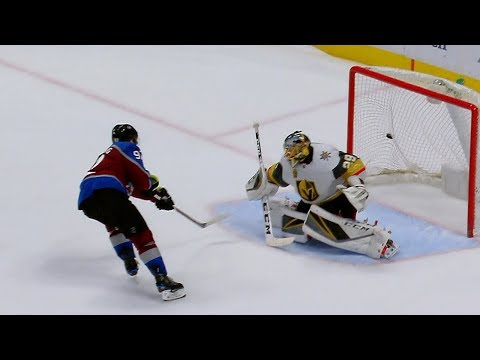 Landeskog scores shootout winner versus Golden Knights