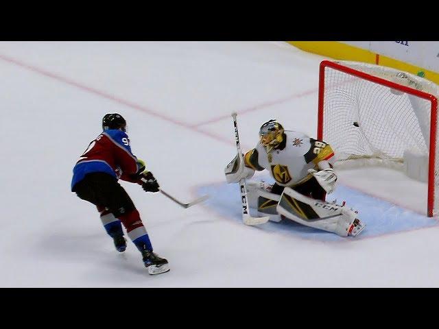 Landeskog scores shootout winner versus Golden Knights