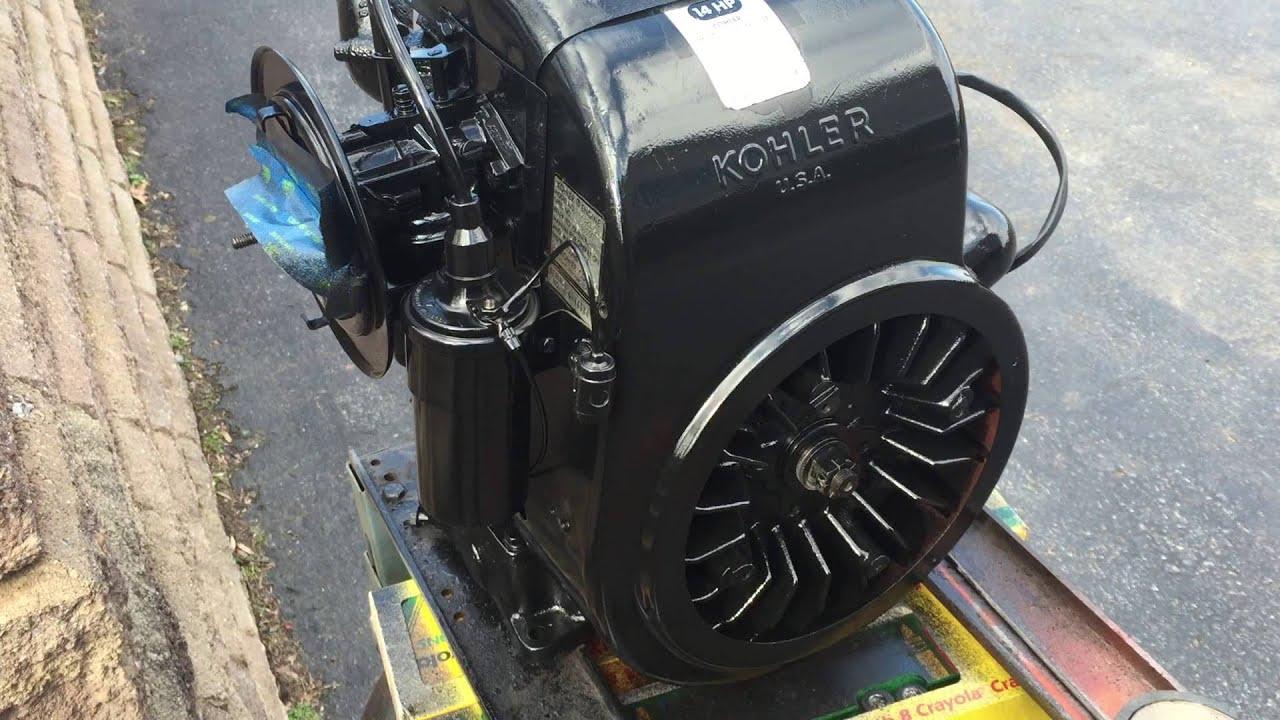 Kohler K 321 14 Hp Engine Walk Around