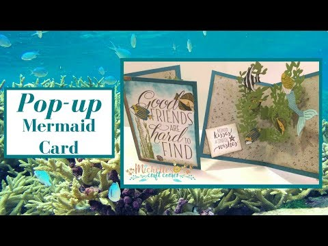 Pop-up Mermaid Card