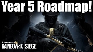 Year 5 Road Map - Rainbow Six Siege