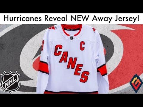 huge discount 3e384 a7d5d Hurricanes Reveal New Road Jersey! (Carolina NHL Adidas Jerseys Review &  Rumor Talk 2019)