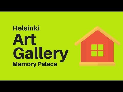 Helsinki Art Gallery Memory Palace