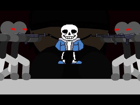 Sans VS Bandits - Undertale Animation (Megatale Part-3)