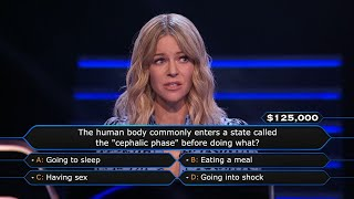 Kaitlin Olson Asks Jimmy Kimmel For Help - Who Wants To Be A Millionaire