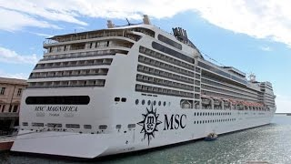 Cruise Ship MSC Magnifica Video Tour on May 2017!MSC Magnifica prov...
