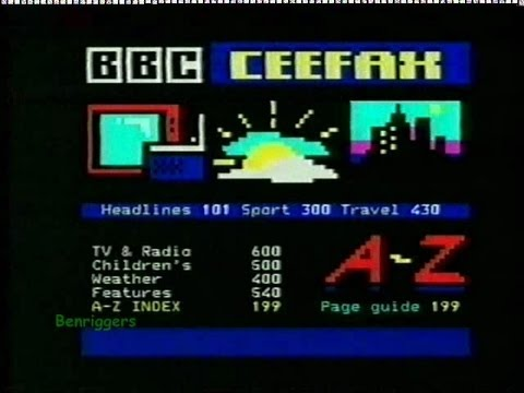 BBC Two Scotland Continuity, Closedown & Pages from Ceefax 31st August/1st September 2003
