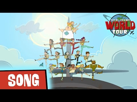 TOTAL DRAMA WORLD TOUR:  🎶 Opening Theme Song 🎶 (S3)