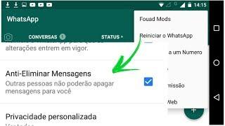 Baixar Bud Tutoriais - COMO VER MENSAGENS APAGADAS! Whatsapp Modificado