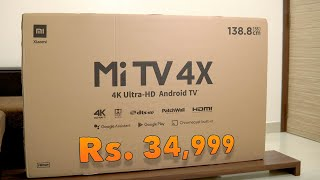 Xiaomi Mi TV 4X 2020 edition Best Android 4K TV for Rs. 34,999 ?
