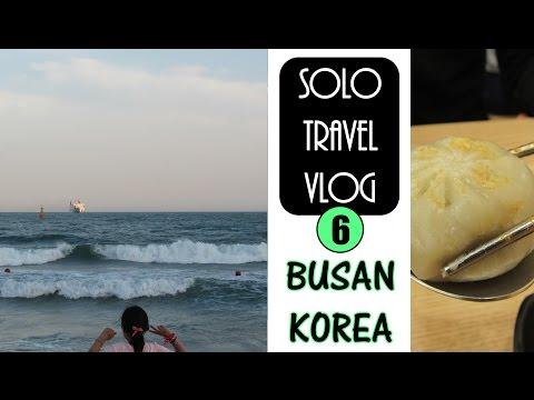 TRAVEL VLOG 6# | BUSAN | Artists at Haeundae Beach | JUNE 2016
