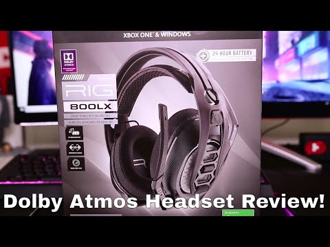 RIG 800LX DOLBY ATMOS GAMING HEADSET