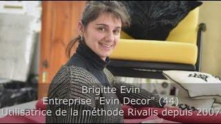 Témoignage client Rivalis - Brigitte - Artisan tapisser décorateur (44)