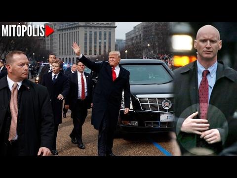 El enigm�tico guardaespaldas de Donald Trump y su inusual postura