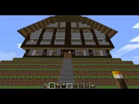 hotel de ville en colombage minecraft youtube. Black Bedroom Furniture Sets. Home Design Ideas