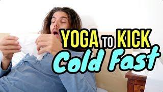 🤒 Yoga To Kick A Cold 🤧☔️
