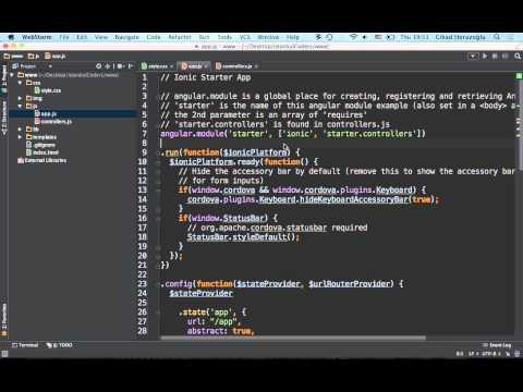 Ionic Framework & Angular JS ile Hibrid Uygulama Geliştirme @IstanbulCoders